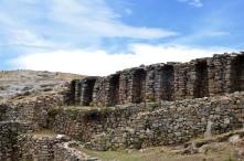 Inca ruins Isla Del Sol