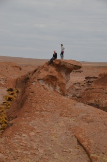 Lava formations, Salt Flats tour Bolivia